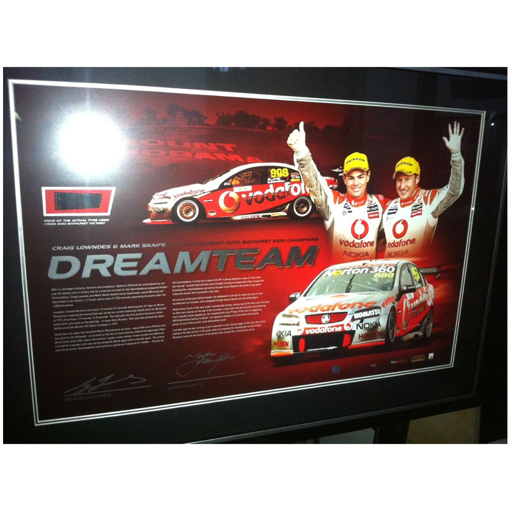 Motorsport – V8 Supercars – Craig Lowdnes & Mark Skai...