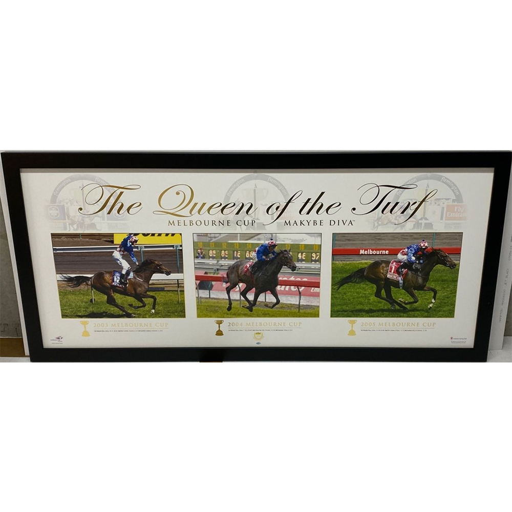 Horse Racing – Makybe Diva – Queen Of The Turf Limited Edi...