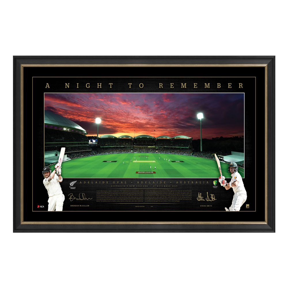Cricket – History in the Making – Historical Day/Night Tes...