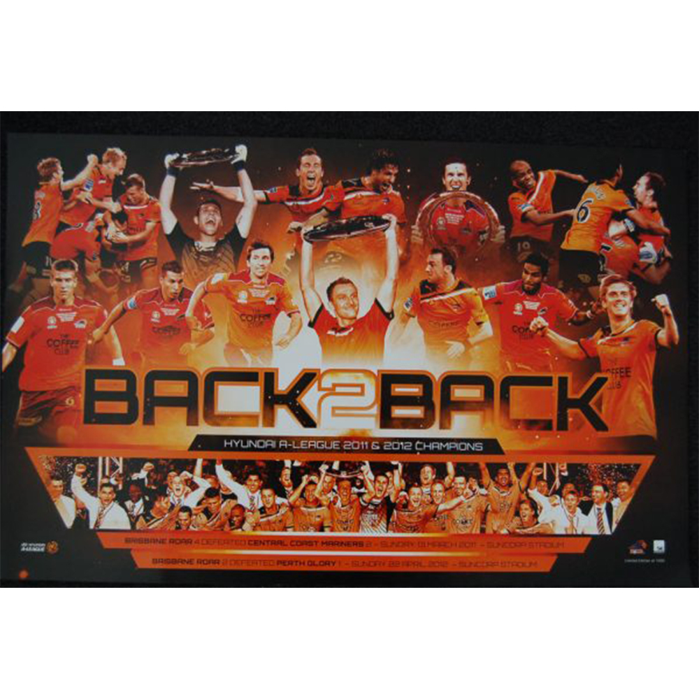 Brisbane Roar – Back To Back Hyundai A-League Premierships 2011-...