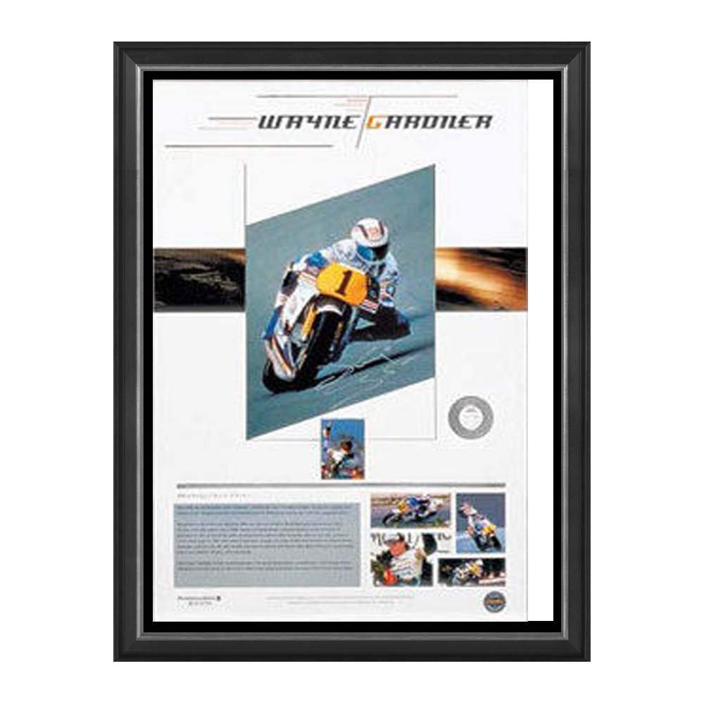 Motorsport – Moto GP – Wayne Gardner Signed and Framed ...