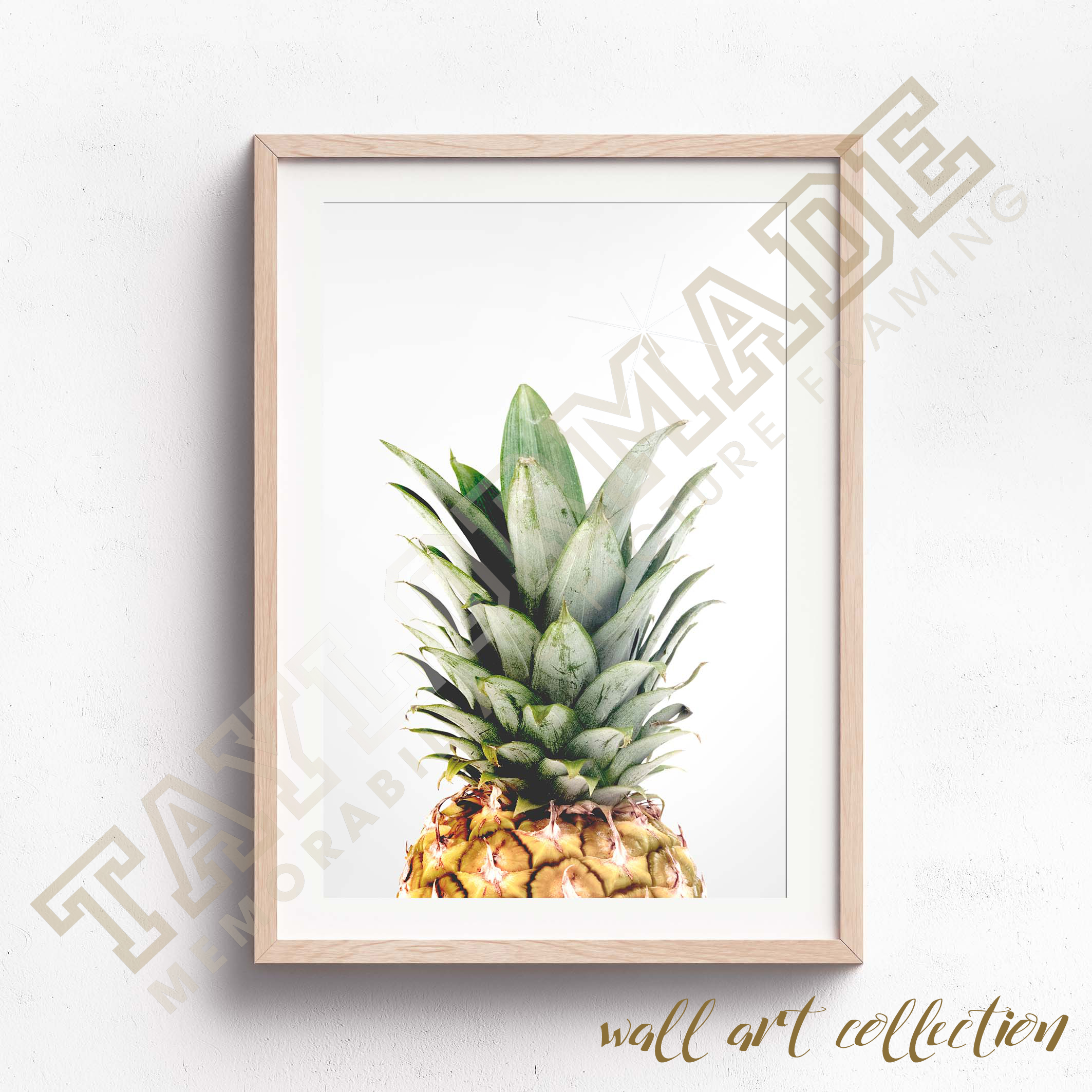 Wall Art Collection – Pineapple Top
