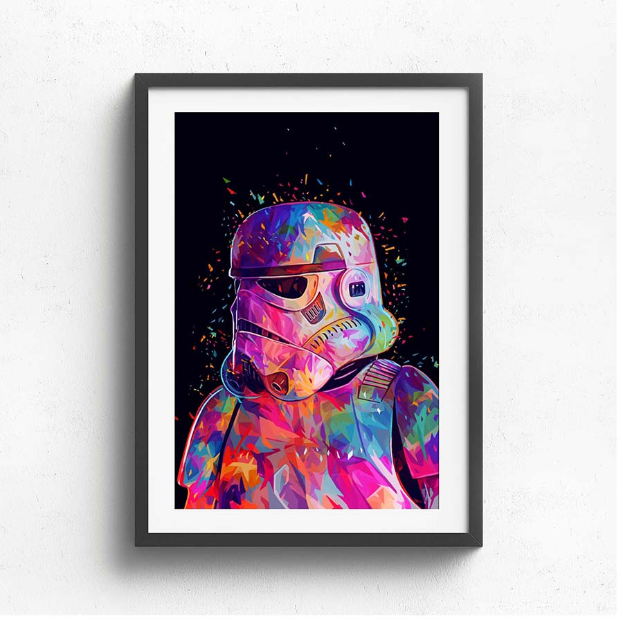 Wall Art Collection – Storm Trooper Colour