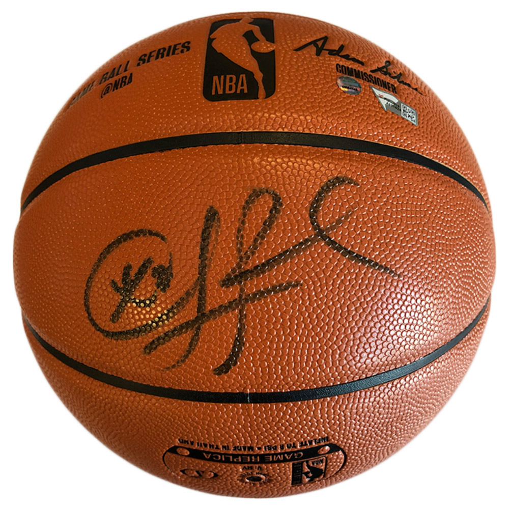 Basketball – Chris Paul Hand Signed Basketball (Fanatics & ...