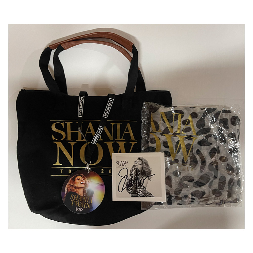 Shania Twain – Shania Now 2018 Tour VIP Pack with Signed Shania ...